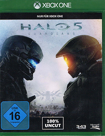 Halo 5: Guardians uncut AT-PEGI Cover Packshot