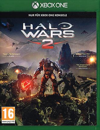 Halo Wars 2 uncut AT-PEGI Cover