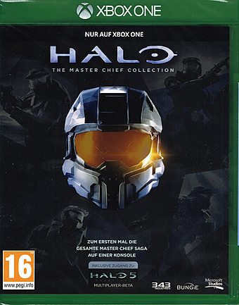 Halo - The Master Chief Collection uncut PEGI Cover Packshot