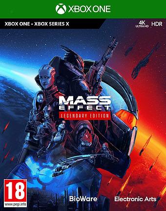 Mass Effect Legendary Edition Cover