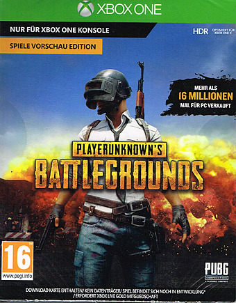 PlayerUnknown's Battleground Cover