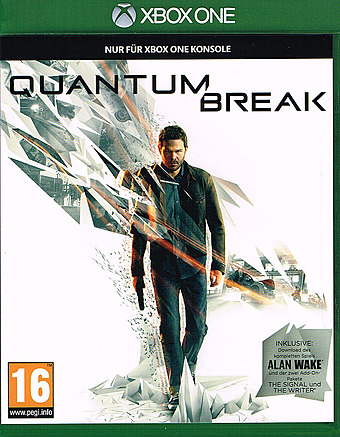 Quantum Break uncut AT-PEGI Cover Packshot