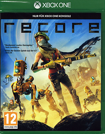 ReCore uncut AT-PEGI Cover