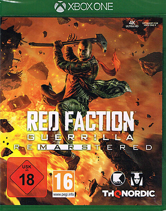 Red Faction Guerilla Re-Mars-tered Cover