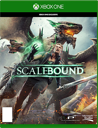 Scalebound uncut AT-PEGI Cover Packshot