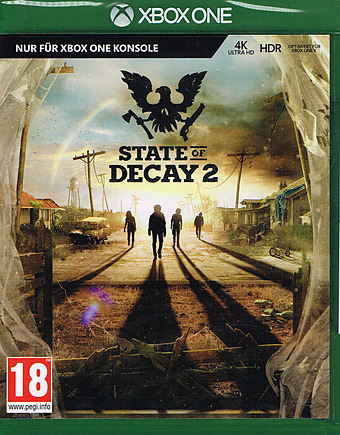 State of Decay 2 Uncut indiziert Cover Packshot