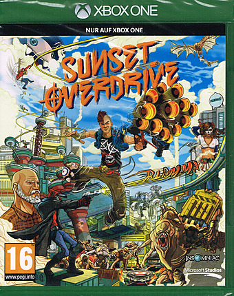 Sunset Overdrive uncut PEGI Cover Packshot
