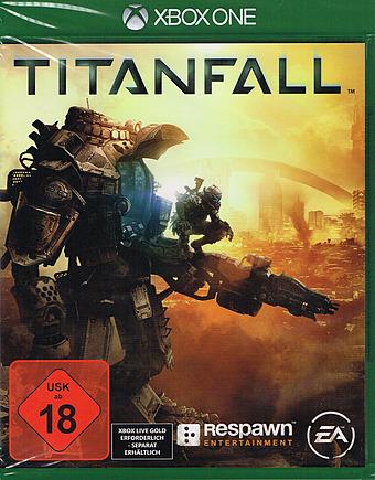 Titanfall uncut PEGI uncut Cover Packshot Xbox One