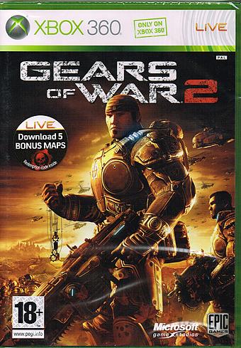 Gears of War 2 Cover Packshot