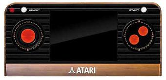 ATARI 2600 Retro Handheld Cover