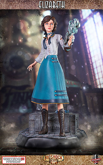 Bioshock Infinite Statue Elizabeth 1/4