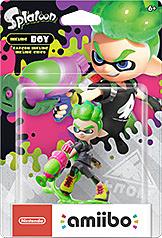 Einfach und sicher online bestellen: Nintendo Inkling Boy amiibo (Neon-Grün) in Österreich kaufen.