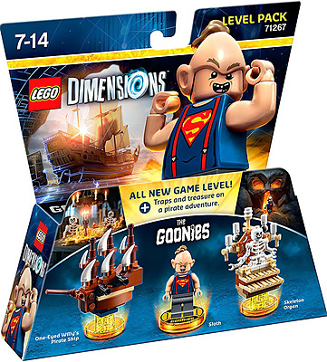 Einfach und sicher online bestellen: LEGO Dimensions Level Pack Goonies in Österreich kaufen.