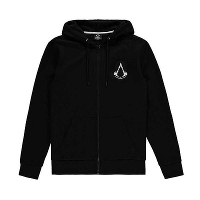 Einfach und sicher online bestellen: Assassins Creed Valhalla Crest Banner Hoddie XL in Österreich kaufen.