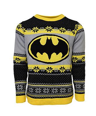 Einfach und sicher online bestellen: Batman Logo Xmas Pullover L in Österreich kaufen.