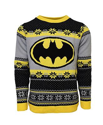 Einfach und sicher online bestellen: Batman Logo Xmas Pullover XL in Österreich kaufen.