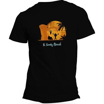 Einfach und sicher online bestellen: Crash Bandicoot T-Shirt N Sanity Beach XL in Österreich kaufen.