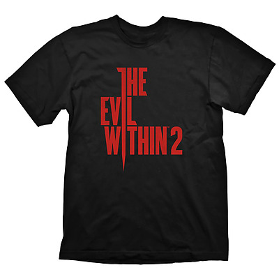 Einfach und sicher online bestellen: Evil Within 2 T-Shirt Logo XL in Österreich kaufen.