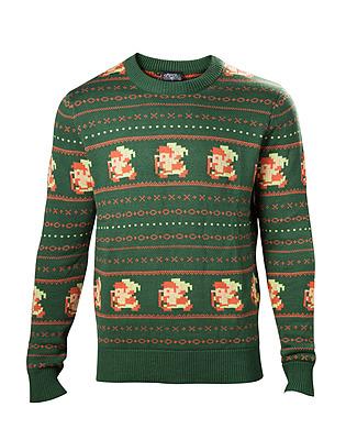 Einfach und sicher online bestellen: The Legend of Zelda Pullover Christmas Link XL in Österreich kaufen.
