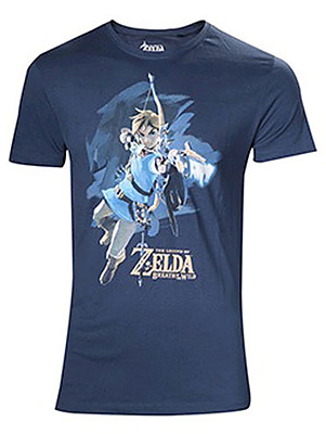 Einfach und sicher online bestellen: Breath of the Wild T-Shirt Link with Arrow XL in Österreich kaufen.