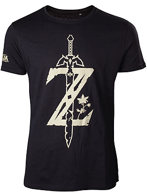 Einfach und sicher online bestellen: Breath of the Wild T-Shirt Sword XL in Österreich kaufen.