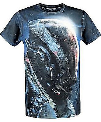 Einfach und sicher online bestellen: Mass Effect Andromeda T-Shirt Ryder N7 L in Österreich kaufen.