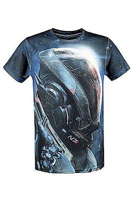 Einfach und sicher online bestellen: Mass Effect Andromeda T-Shirt Ryder N7 M in Österreich kaufen.