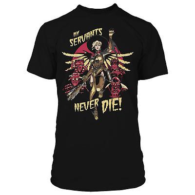 Einfach und sicher online bestellen: Overwatch Premium T-Shirt Mercy With L in Österreich kaufen.