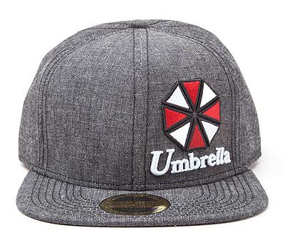 Einfach und sicher online bestellen: Resident Evil Snap Back Cap Umbrella Logo in Österreich kaufen.