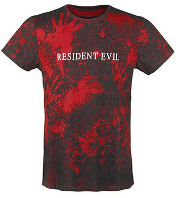 Einfach und sicher online bestellen: Resident Evil Sublimation T-Shirt Logo L in Österreich kaufen.
