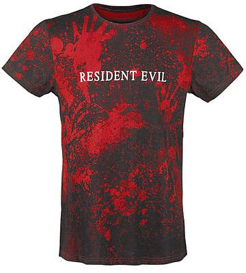 Einfach und sicher online bestellen: Resident Evil Sublimation T-Shirt Logo M in Österreich kaufen.