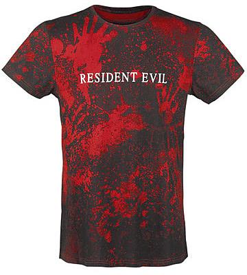 Einfach und sicher online bestellen: Resident Evil Sublimation T-Shirt Logo XL in Österreich kaufen.