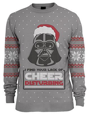 Einfach und sicher online bestellen: Star Wars Pullover Darth Vader Xmas L in Österreich kaufen.