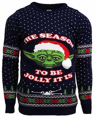 Einfach und sicher online bestellen: Star Wars Pullover Yoda Christmas Jumper L in Österreich kaufen.