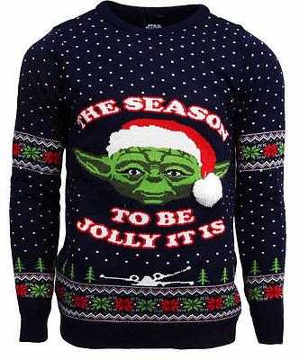 Einfach und sicher online bestellen: Star Wars Pullover Yoda Christmas Jumper M in Österreich kaufen.