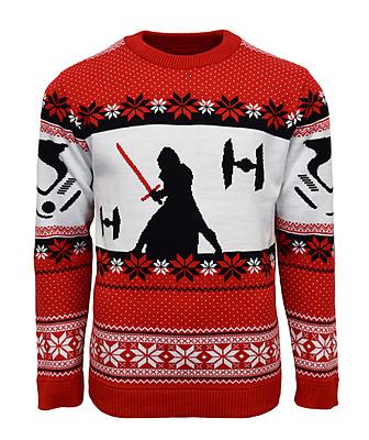 Einfach und sicher online bestellen: Kylo Ren Xmas Pullover XL in Österreich kaufen.