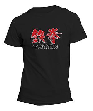 Einfach und sicher online bestellen: Tekken Original Logo T-Shirt XL in Österreich kaufen.