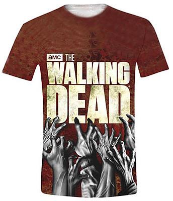 Einfach und sicher online bestellen: Walking Dead Sublimation T-Shirt Hands L in Österreich kaufen.