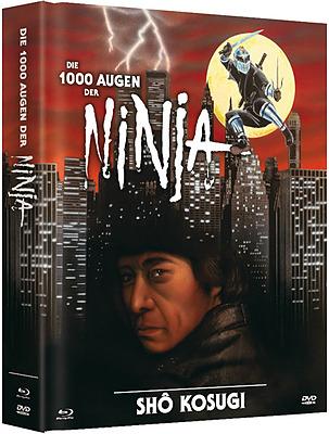 Einfach und sicher online bestellen: Die 1000 Augen der Ninja Mediabook Cover B in Österreich kaufen.