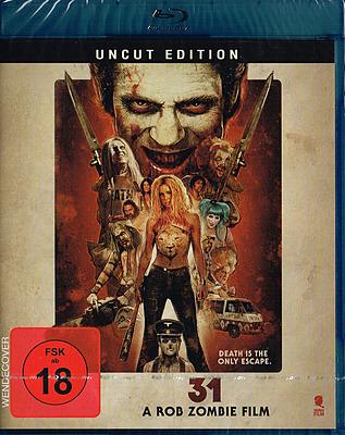 Einfach und sicher online bestellen: 31 - A Rob Zombie Film in Österreich kaufen.
