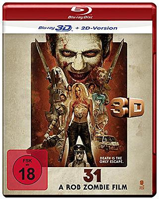 Einfach und sicher online bestellen: 31 - A Rob Zombie Film 3D in Österreich kaufen.