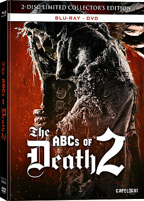 Einfach und sicher online bestellen: The ABCs of Death 2 Mediabook (DVD + Blu-ray) in Österreich kaufen.