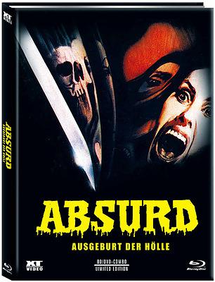 Einfach und sicher online bestellen: Absurd Limited 444 Mediabook Cover C in Österreich kaufen.