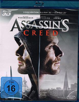 Einfach und sicher online bestellen: Assassin's Creed - Der Film 3D in Österreich kaufen.