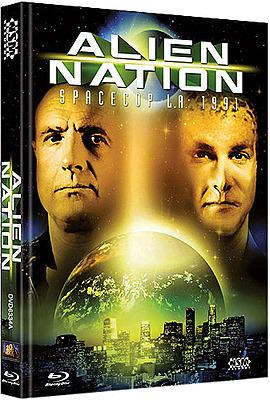 Einfach und sicher online bestellen: Alien Nation Limited Edition Mediabook Cover A in Österreich kaufen.