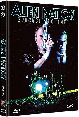 Einfach und sicher online bestellen: Alien Nation Limited Edition Mediabook Cover B in Österreich kaufen.
