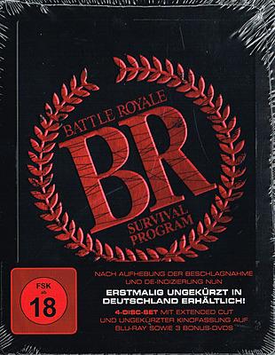 Einfach und sicher online bestellen: Battle Royale 1 Extended Cut Steelbook Edition in Österreich kaufen.