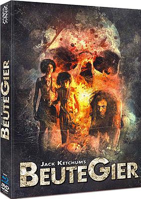 Einfach und sicher online bestellen: Jack Ketchums Beutegier Cover A Mediabook in Österreich kaufen.