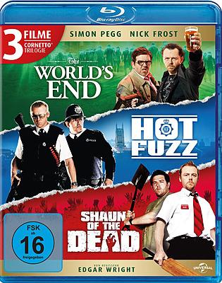 Einfach und sicher online bestellen: The World's End / Hot Fuzz / Shaun of the Dead in Österreich kaufen.