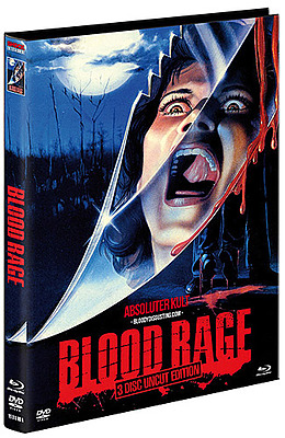 Einfach und sicher online bestellen: Blood Rage Limited 1000 Edition Mediabook Cover A in Österreich kaufen.